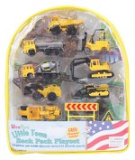 Construction Backpack Playset